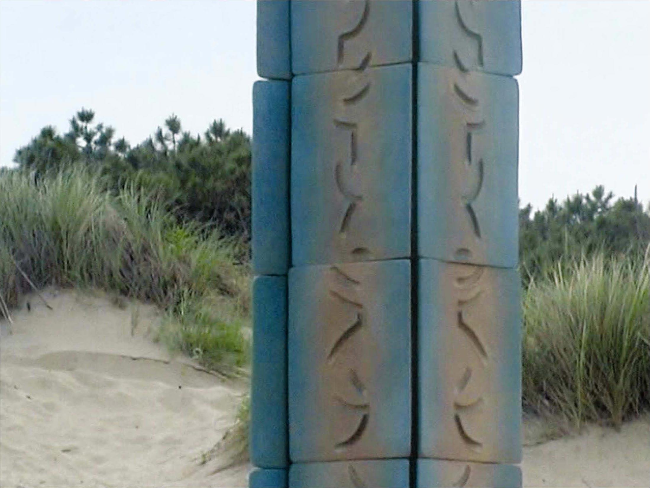 La stele dedicata al mare